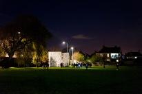 The gates open at Weston-super-Mare Cricket Club's Bonfire Night celebrations, Bonfire Night at WsM CC, 04/11/2017