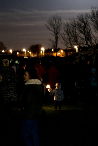 For some the sparklers are the best bit!, Bonfire Night at WsM CC, 04/11/2017