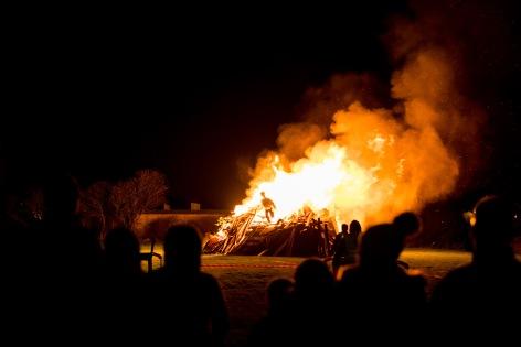 A Proper Somerset Bonfire, Bonfire Night at WsM CC, 04/11/2017
