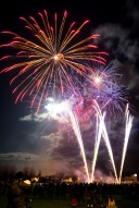 The Weston 'W' - Up the West!, Bonfire Night at WsM CC, 04/11/2017