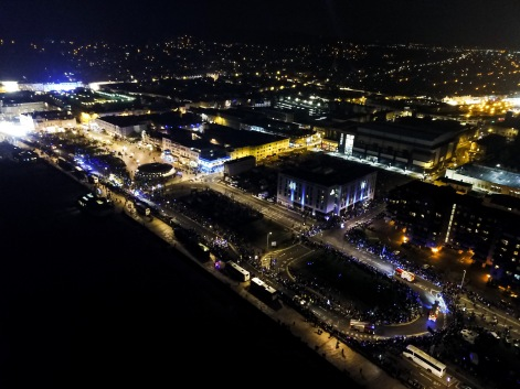 Weston Carnival from the Air, 10/11/2017