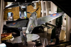 They're much bigger than they look at airshows!, Imperial War Museum, London, 07/12/2017