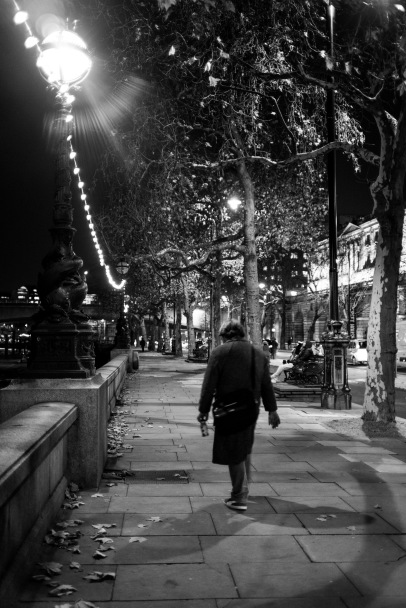 Homeward bound, London, 07/12/2017