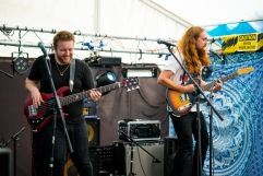 Iain Eccleston and The Blue Horizon, Dairyfest, Weston-super-Mare, 08/05/2017