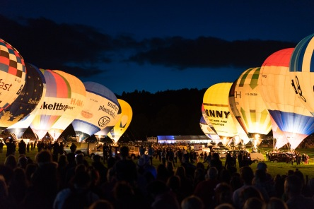 The Night Glow, Bristol Balloon Fiesta, Bristol, 11/08/2017