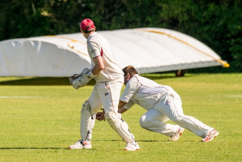 Wicket!, WsM CC vs North Perrott CC, WsM, 01/07/2017