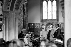 Andy and Jess's Wedding, Priston Village, 08/09/2017