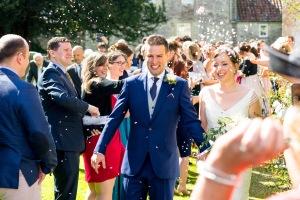 Andy and Jess's Wedding, Priston Village, 08/09/2017