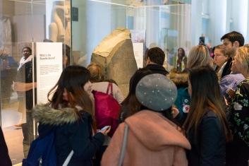 THE Rosetta Stone, The British Museum, London, 05/01/2018