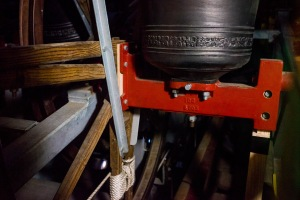 The bells of Great St. Mary's Church - thankfully not ringing whilst the picture was taken!, Great St.Mary's Church, Cambridge, 15/01/2018
