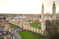 King's College from Great St.Mary's Church, Cambridge, 15/01/2018