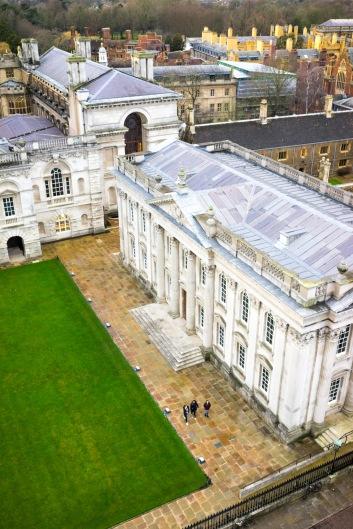 Senate House from Great St.Mary's Church, Cambridge, 15/01/2018