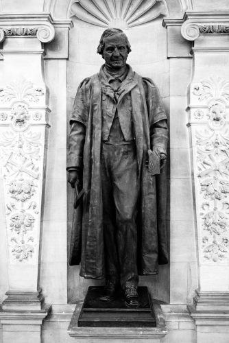 The man himself, The Sedgwick Museum, Cambridge, 15/01/2018