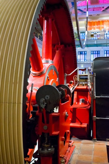 The Burnley Mill Engine, Energy Hall, Science Museum, 22/01/2018