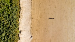 Playing with the Mavic, Weston Beach, WsM, 25/06/2017