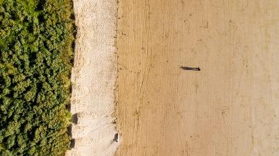 Playing with the Mavic, Weston Beach, WsM, 25/06/2017