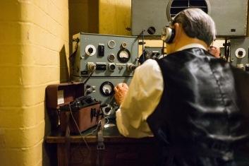 The BBC Broadcast Room, Churchill War Rooms, 31/01/2018
